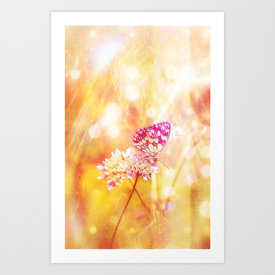 Butterfly - for iphone Art Print