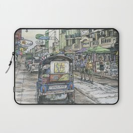 One day in Bangkok Laptop Sleeve