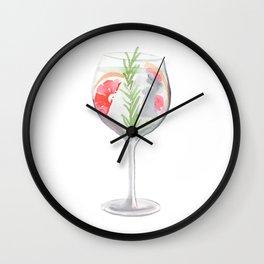 Cocktail no 6 Wall Clock