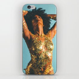 Beauty foster - skin and gold iPhone Skin