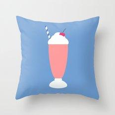 #18 Milkshake Throw Pillow