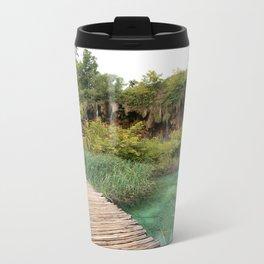 guided relaxation Metal Travel Mug