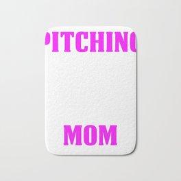 Pitching Mom Design  Bath Mat