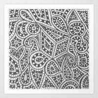 Doodle 9 Art Print
