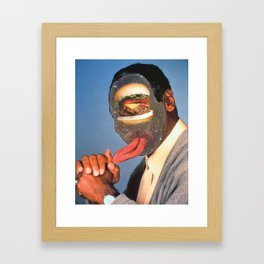 knuckle sandwhich (from god!) Framed Art Print