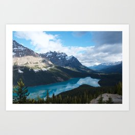 Peyto Lake, Banff National Park Art Print