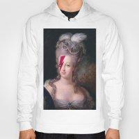 marie antoinette Hoodies featuring Marie Antoinette by lapinette