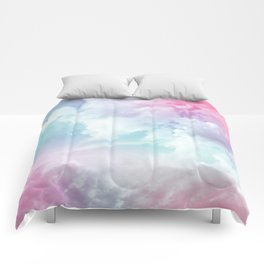 Cotton Candy Sky Comforters