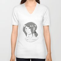 snk V-neck T-shirts featuring Ymir by Ymiroz