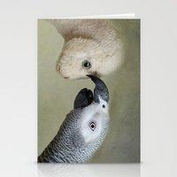 friendship Stationery Cards featuring Friendship by Ellen van Deelen