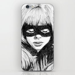 Hit-Girl iPhone Skin