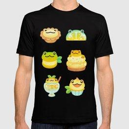 Sweet Lemon frog - dark T-shirt