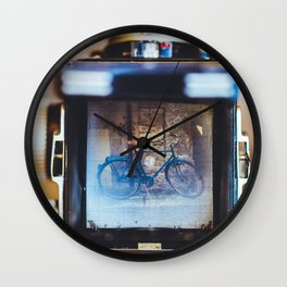Vintage Camera and Retro Bicycle Wall Clock
