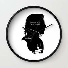 Always Piton Wall Clock