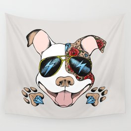 Pits & Giggles Wall Tapestry