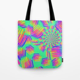 Spring breakers - geometric color Tote Bag