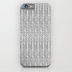 Knit Outline Slim Case iPhone 6s
