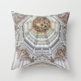 Cathedral of Our Lady Throw Pillow