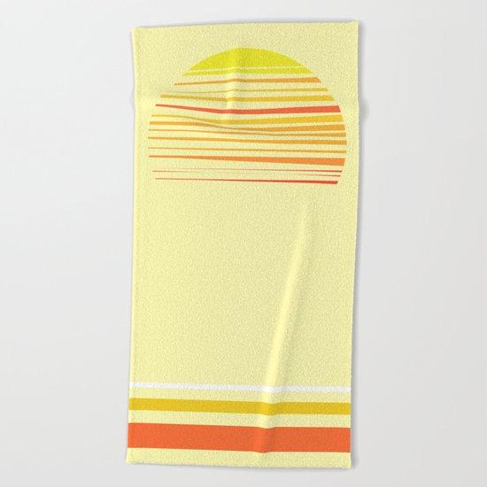 all summer long Beach Towel