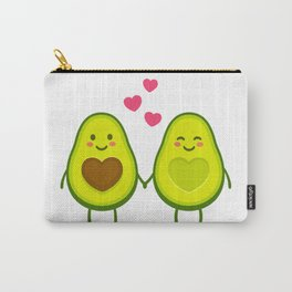 Cute avocados in love Carry-All Pouch