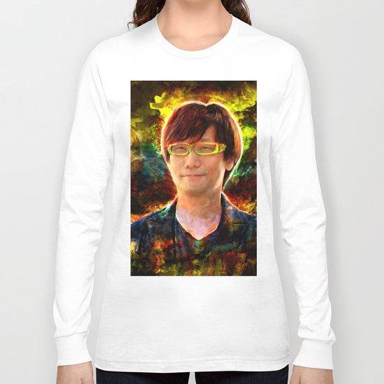 Hideo Kojima Long Sleeve T-shirt
