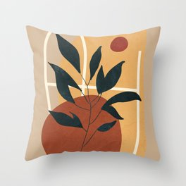 Abstract Shapes No.16 Throw Pillow