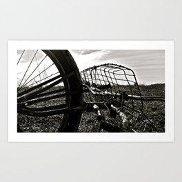 Praire Basket Art Print