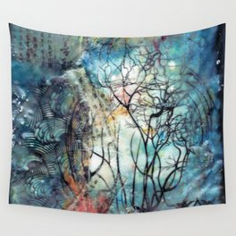 two worlds Wall Tapestry
