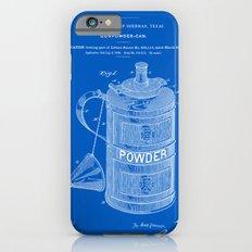 Gunpowder Can Patent - Blueprint Slim Case iPhone 6s
