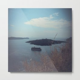 Santorini, Greece 15 Metal Print