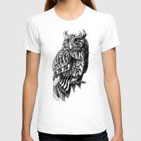bioworkz T-shirts featuring Owl 2.0 by BIOWORKZ