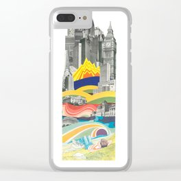 The Big City Clear iPhone Case