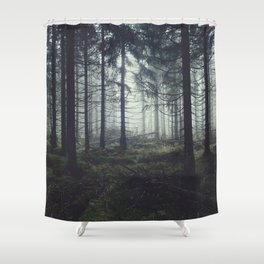 Through The Trees Shower Curtain