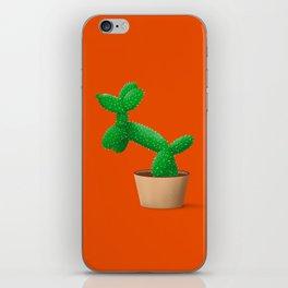 Cactus dog iPhone Skin