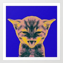 Pop Art Kitten 1 Art Print