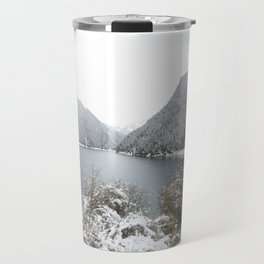 Winter wilderness Travel Mug