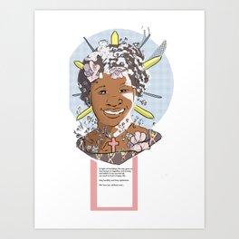 Mother's Present Art Print