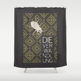 Books Collection: Kafka, The Metamorphosis Shower Curtain