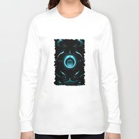 tron Long Sleeve T-shirts featuring Tron  by Electra