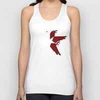 infamous Tank Tops featuring Infamous Eagles by Rebekhaart