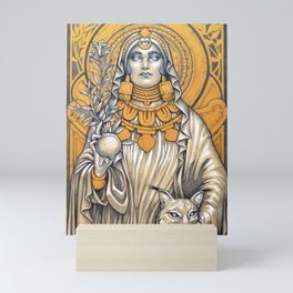 Lady of Baza- Dama de Baza Mini Art Print
