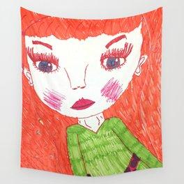 Bright Eyes Wall Tapestry