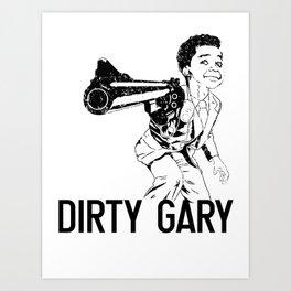 Gary Coleman Street Art  Art Print