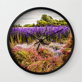 Nature's Canvas Wall Clock