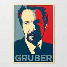 GRUBER Canvas Print