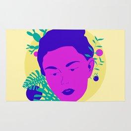 Floral Girl Rug