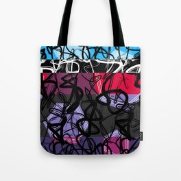 Line | Hexagon Tote Bag