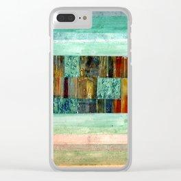 Strip Search Clear iPhone Case