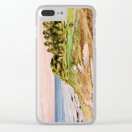 Whistling Straits Golf Course 17th hole Clear iPhone Case
