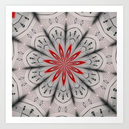 Our Tune Abstract Art Print